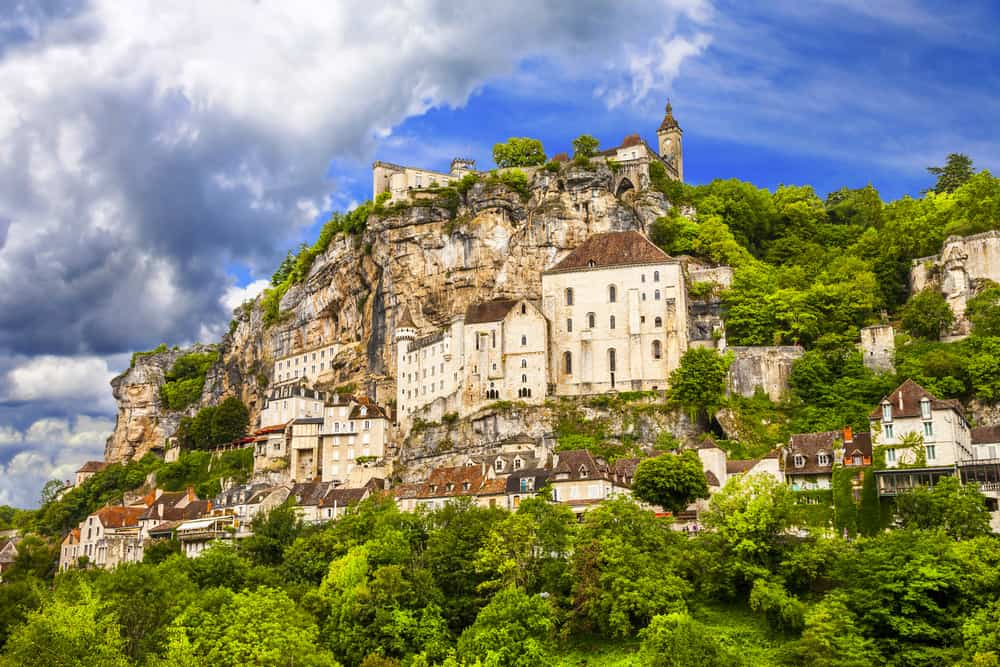 The town of Rocamadour in the South of France best way to spend one week in Europe
