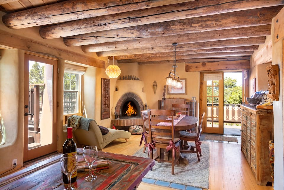 The Artist Retreat on Tano Road is one of the best Airbnbs in Santa Fe