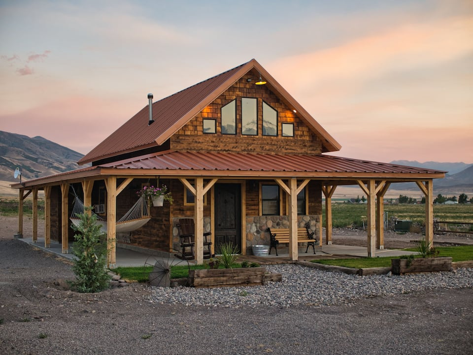 a photo of cobblestone ranch one of the best Utah vacation homes