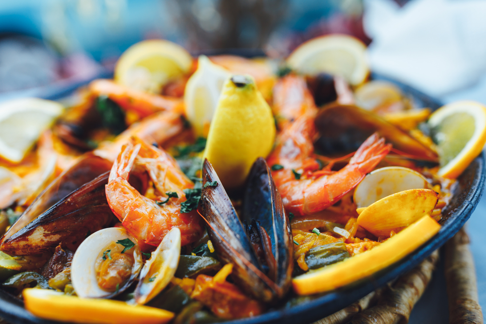 paella is offered at El Farol which is one of best restaurants in Santa Fe