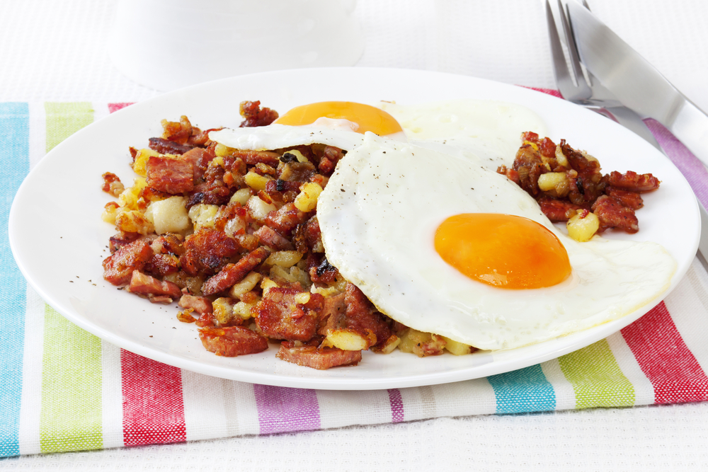 corned beef hash is offered at Tune Up Cafe which is one of the best restaurants in Santa Fe