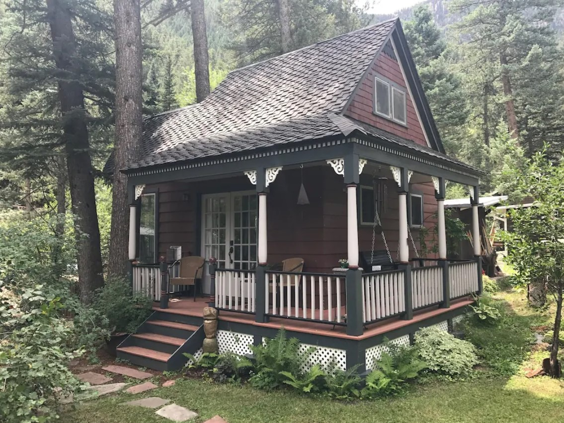A charming cottage surrounded by lush greenery one of the best VRBO in Colorado