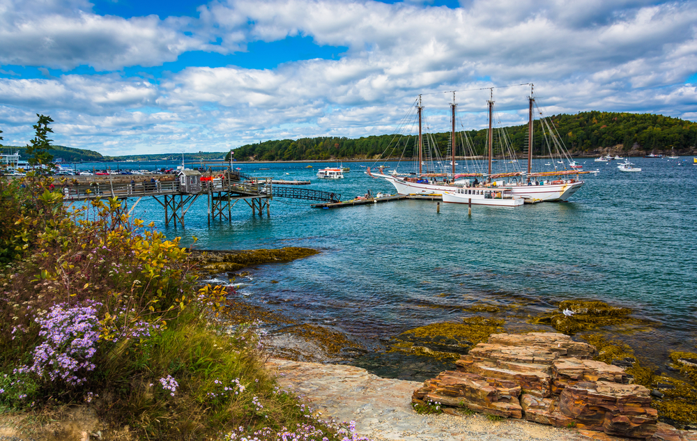 Bay Harbor, Maine, is a destination for a weekend getaway on the East Coast.
