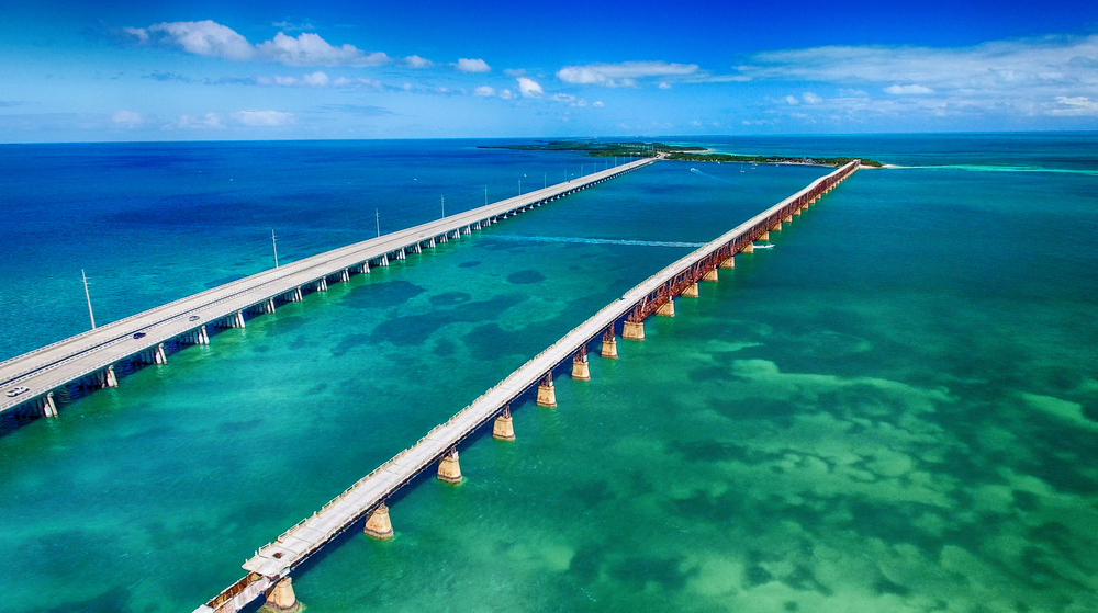If you a looking for one of the most scenic weekend getaways on the East Coast, do the drive from Miami to Key West, Florida.