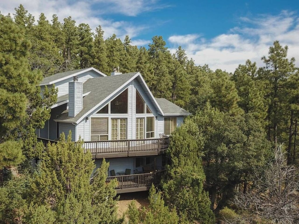 this family cabin in the pines is one of the best cabins in Arizona
