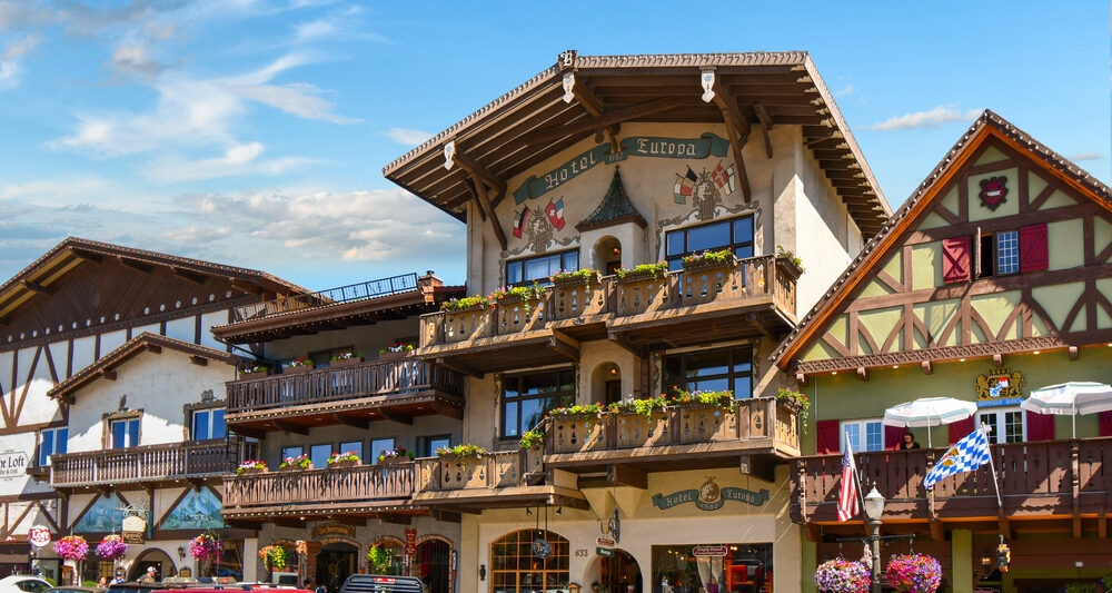 a photo of one of the best leavenworth attractions