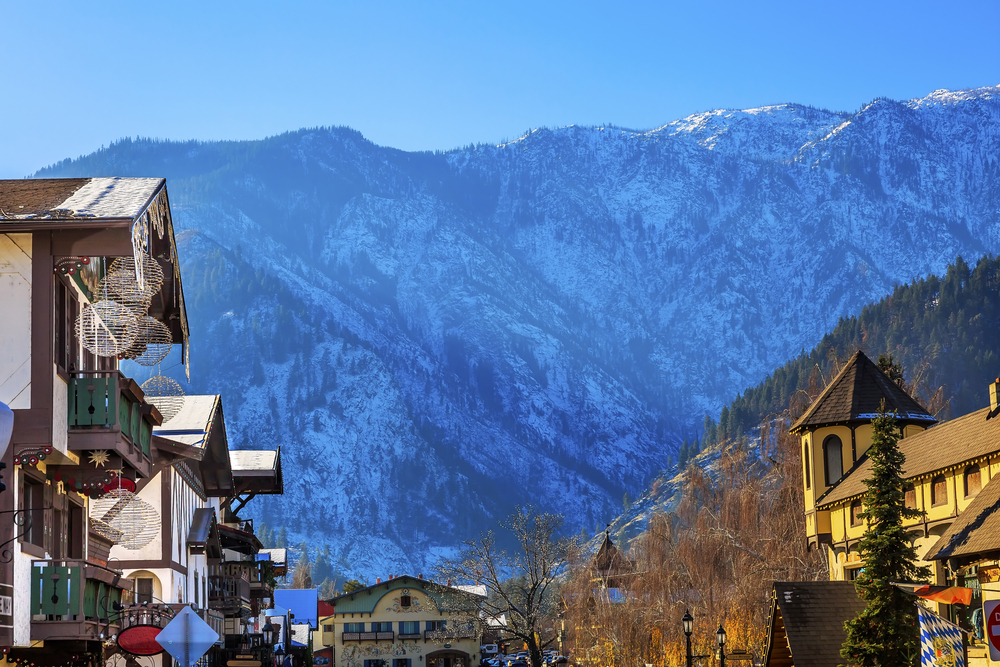 a photo of one of the best things to do in leavenworth WA