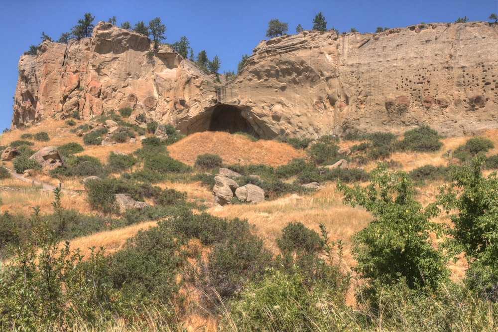 photo of Pictograph Cave State Park ones of the top montana attractions