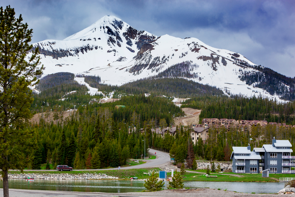 a photo of big sky resort one of the best things to do in montana