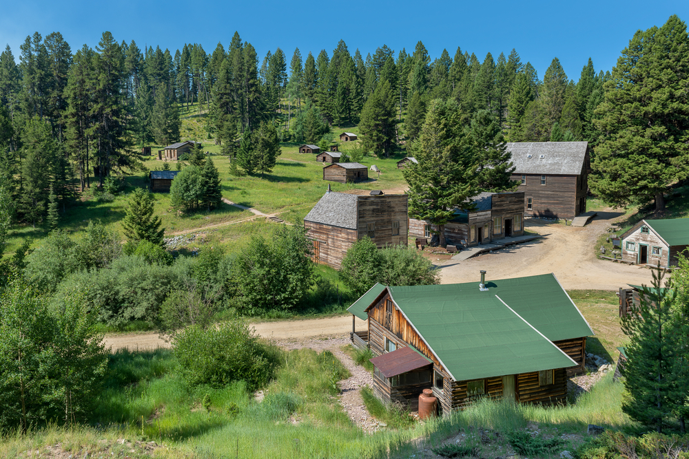 a photo of garnet ghost town one of the coolest places to visit in montana