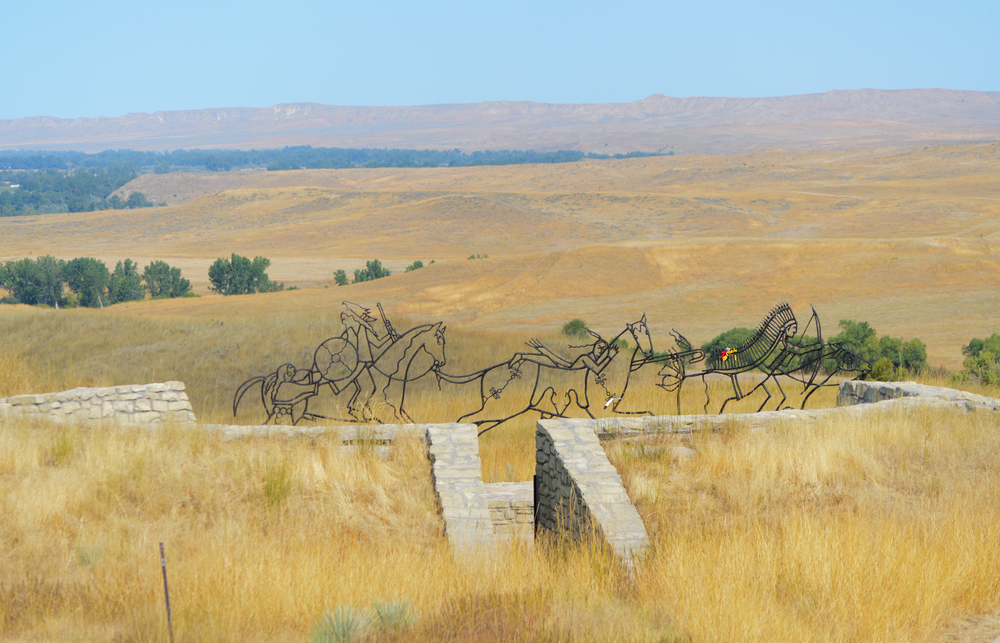 a photo of the little bighorn battlefield national monument one of the best places to visit in montana