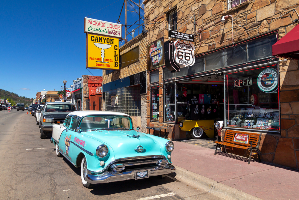 a visit to the small town of Williams is one of the best weekend getaways in Arizona
