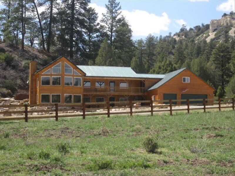 a photo of the old lazy bar s ranch one of the top cabin rentals in the utah mountains