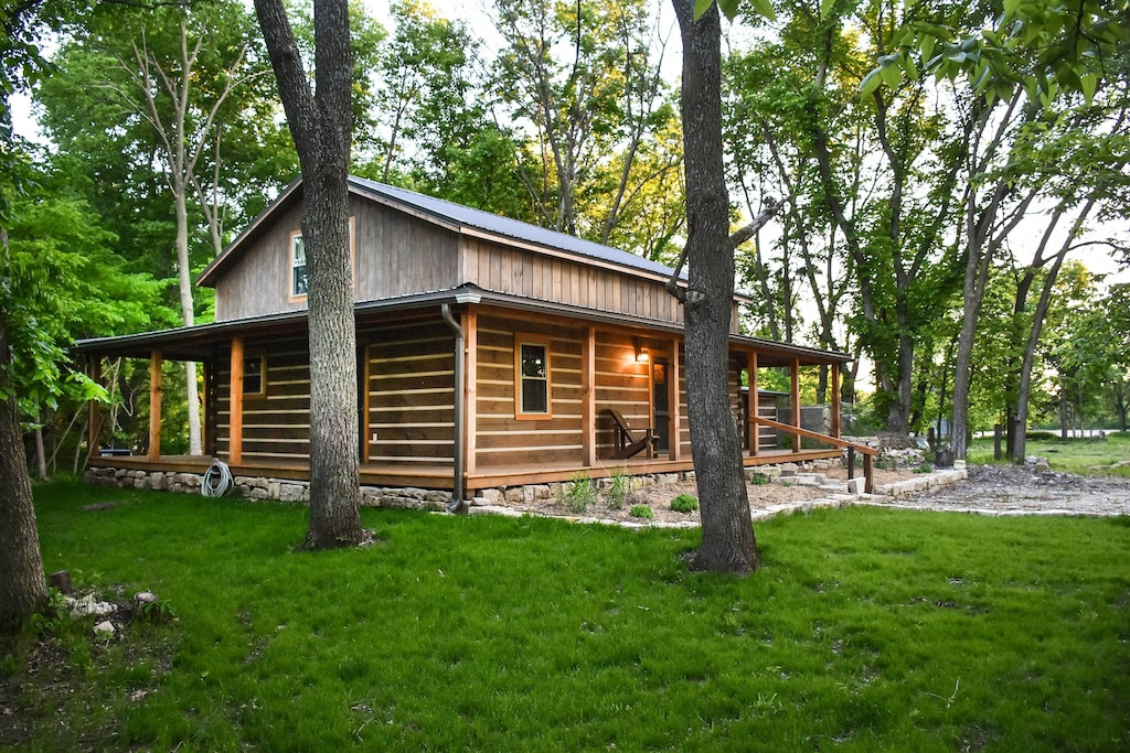 Paw Print Cabin is one of the best VRBOs is Kansas