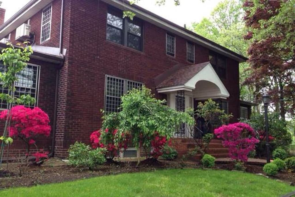 Home on Kissena Park one of the best NYC VRBO